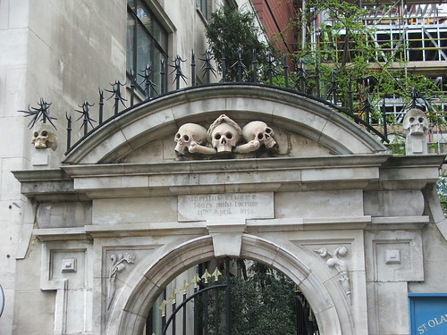 St Olave's Church Gate, Hart Street, London