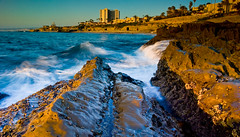 La Jolla (John Lemieux) Tags: ocean sea seascape water landscape la nikon filter polarizer hdr jolla cpl graduated density neutral gnd d40x