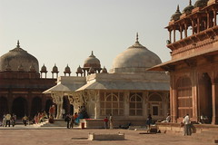 Mosque at Fatehpur Sikri-3