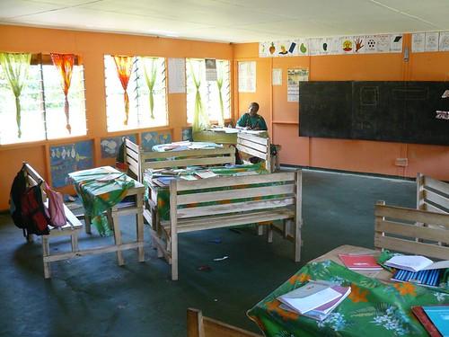 Vanuatu : Ile de Tanna #25 : Ecole de Manuapen ( francaise ) #4