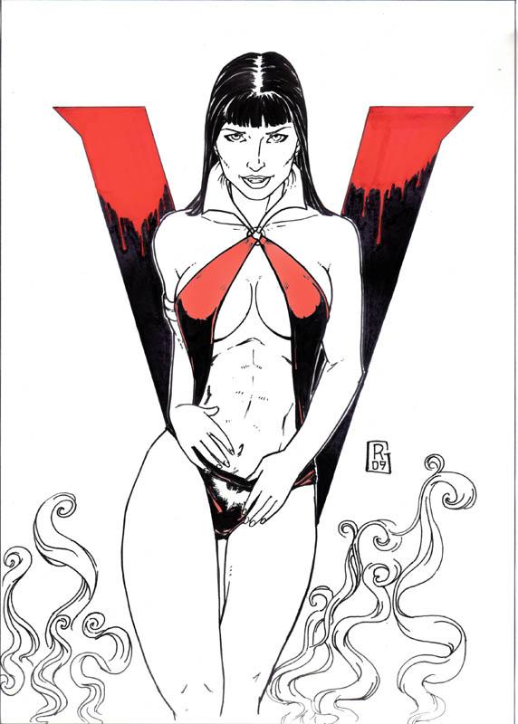 Vampirella (Rafael, Lineas Perturbadas)