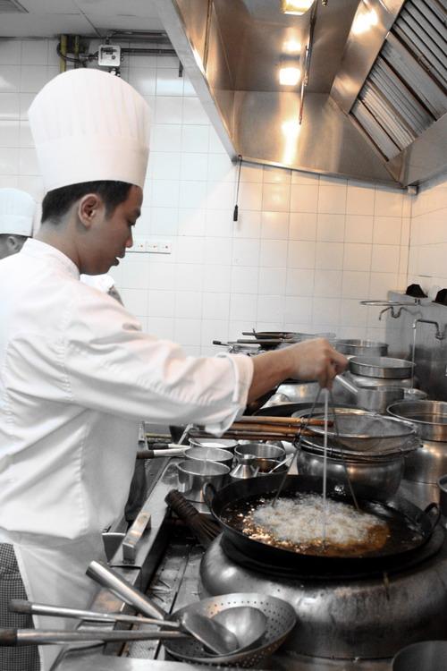 Tai Zhi Heen kitchen 2