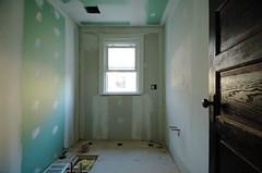 drywalled (mennyj) Tags: home drywall bathroom renovation greenboard
