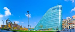 Big URBIS... (ASBO Allstar) Tags: panorama glass manchester unitedkingdom panoramic urbis exhibitioncentre hugin sigma30mm iansimpson halcrow asboallstar