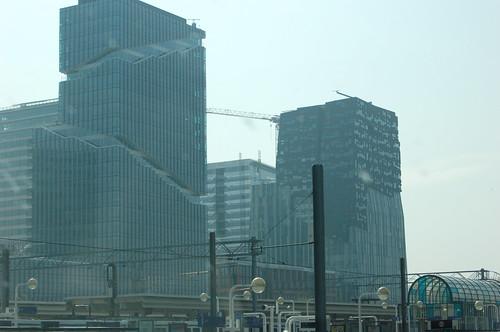 アムステルダムの奇妙なビル