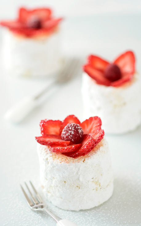 Strawberry Charlottes