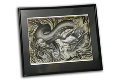 Mythos: Framed (shaire productions) Tags: show art wall tattoo work asian japanese artwork gallery dragon framed chinese arts style korean frame artshow mythos influence peterboroughyoungcarers youngcarerartexhibition peterboroughyoungcarerartexhibition youngcarersartexhibition