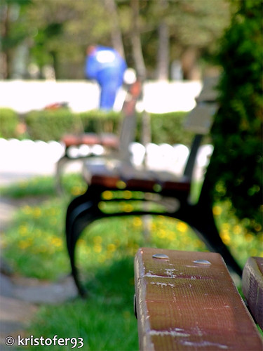 Banci in Parcul Cancicov Bacau - primavara 2009