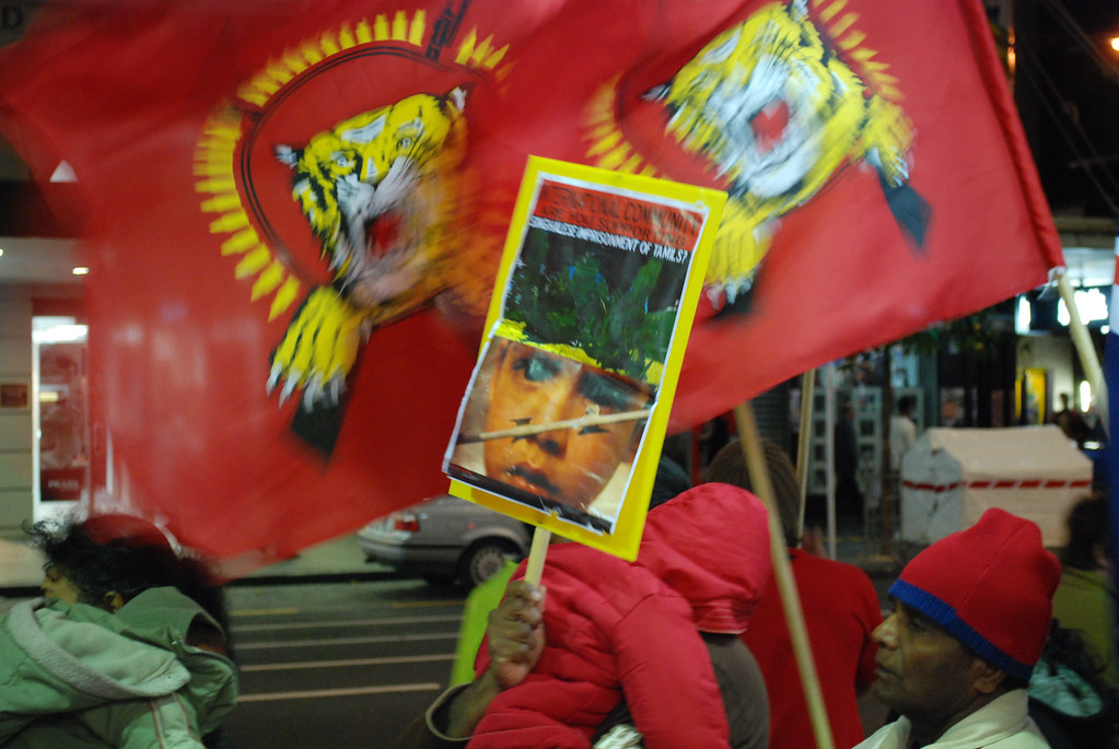 Tamil Tigers Demonstration