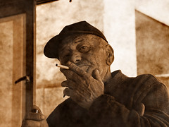 (Zopidis Lefteris) Tags: portrait face sepia portraits faces cigarette hellas oldman cigar greece macedonia allrightsreserved lefteris eleftherios   zop   zopidis    leyteris     rubyphotographer         photographerczopidislefteris c heliographygroup heliographygroupmember photographerzopidislefteris  photographerzopidislefterisc c  allphotosarecopyrightedbyzopidislefteris  copyright