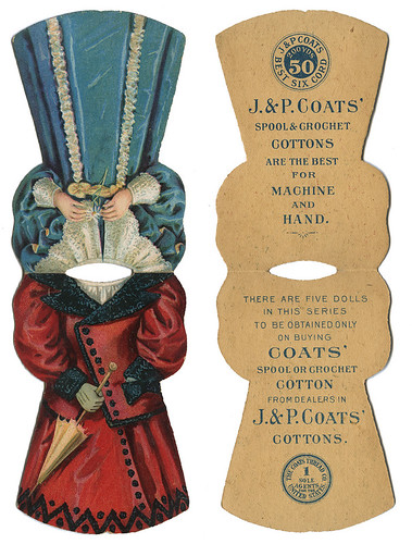 J. & P. Coates_mechanical paper doll dresses_tatteredandlost
