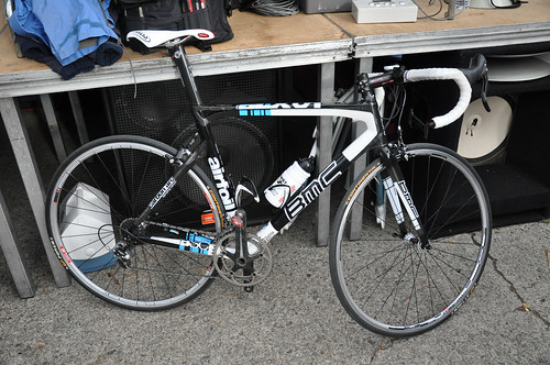 Jackson Stewart's winning bike