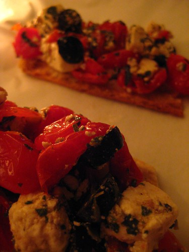 Cherry Tomato Brushetta