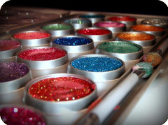 make-up rainbow