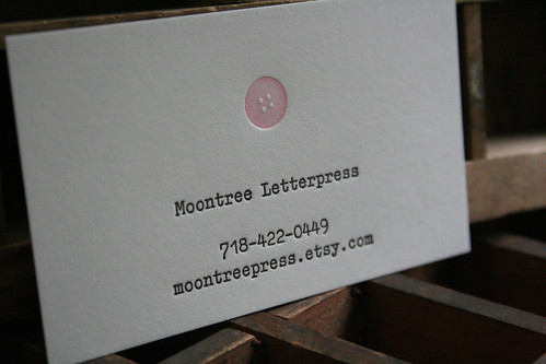Business cards moontree letterpress you can find the other designs in their etsy shop right here moontree letterpress also has a fabulous portfolio of wedding invitations business cards colourmoves