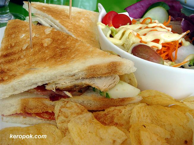 Graduate Club Sandwich