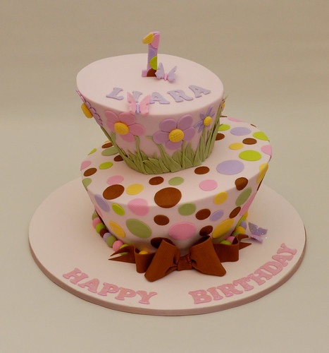 Liara's 1st Birthday cake