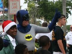 Sergio Goldvarg as Batman in Broward County Police Charity Event (sergio goldvarg) Tags: sergio sheriff batmobile browardcounty diecast goldvarg waffleworks moldelisme