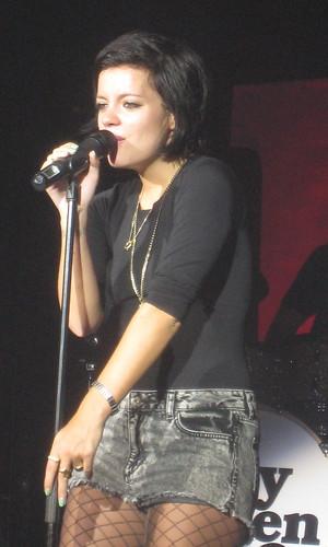 Lily allen - La cigale - 2009