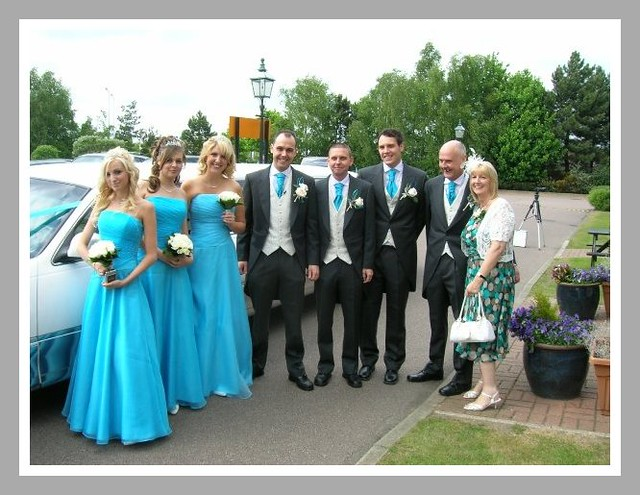Turquoise Bridesmaid Dresses What Colour Flowers Wedding