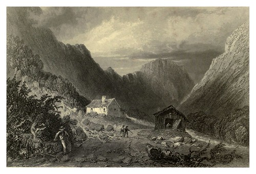012-La Willey House en las Montañas Blancas 1840