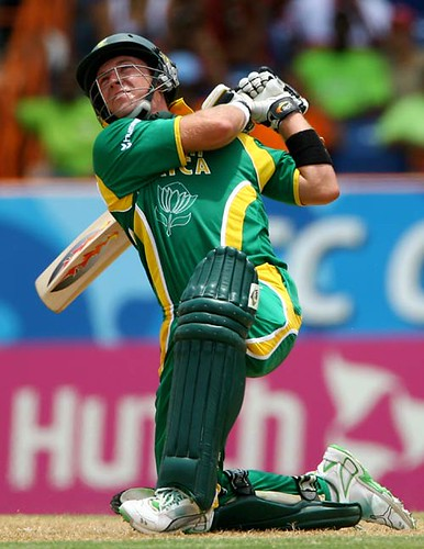 AB de Villiers on his way to a 129 balls 146-SA vs WI Super Eights Grenada WC 2007