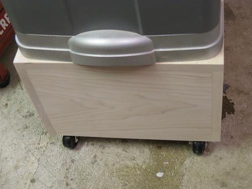 more flush sanding on the edges