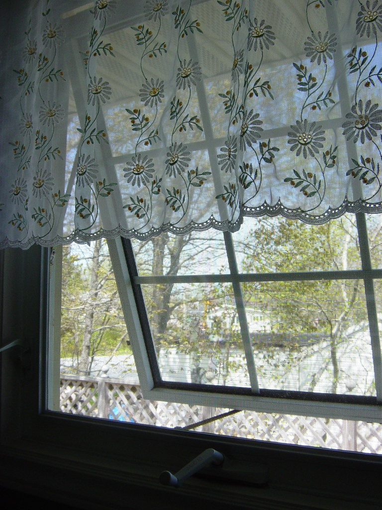 Opening my kitchen window
