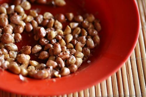 Warung Merta Sari- peanuts as appetizers