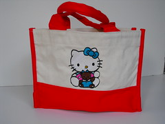 Kitty - Small Canvas Bag