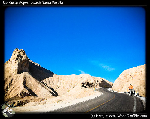 last dusty slopes towards Santa Rosalia por exposedplanet.