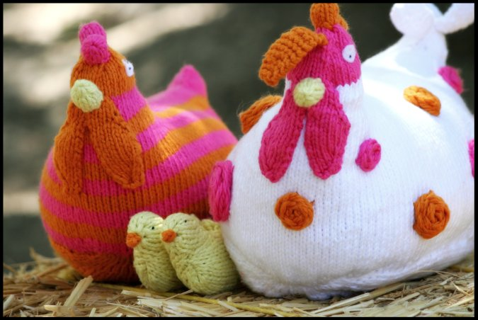 Knitting Patterns Toy Chicken : Never Not Knitting: Chicken Family