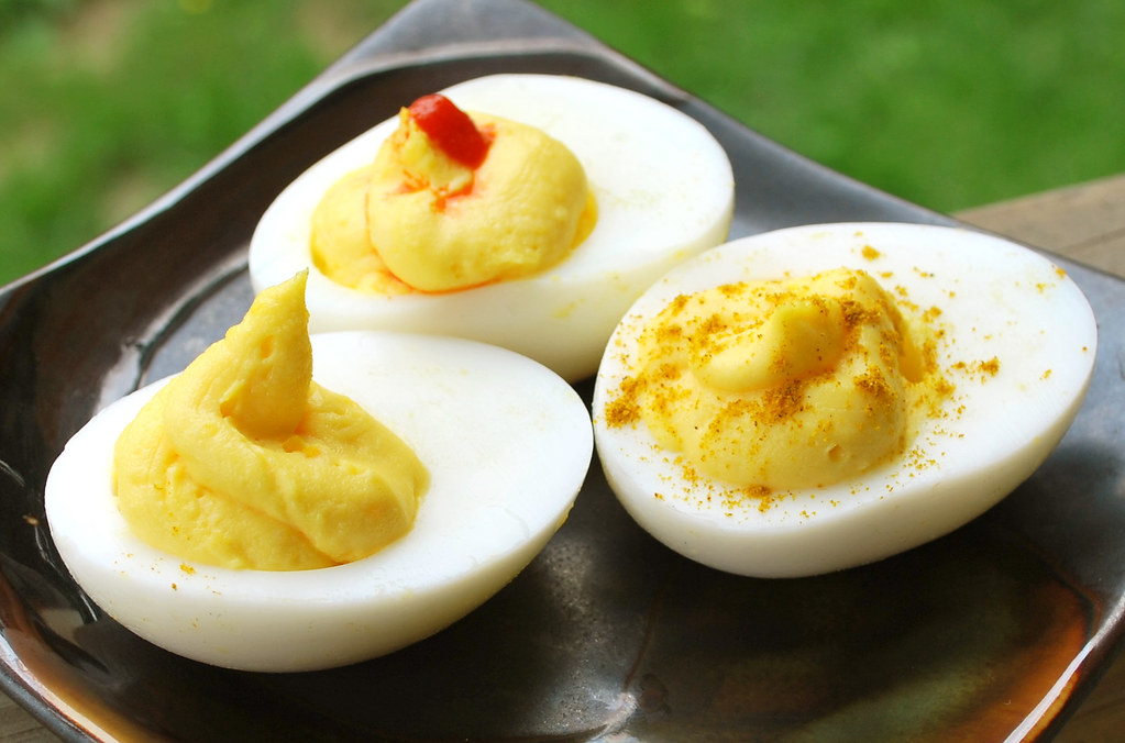 Deviled Eggs Trio
