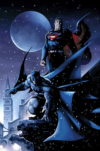 Batman_and_Superman_by_JPRart