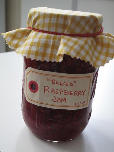 Baked Raspberry Jam