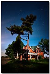 ABANDONED IN THE MOONLIGHT (_Val W) Tags: nightphotography nightimages latenight moonlight summertime afterdark startrails longexposures ridgetown pentaxk10d valwest imgp9187