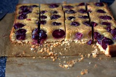 Cherry Brown Butter Bars