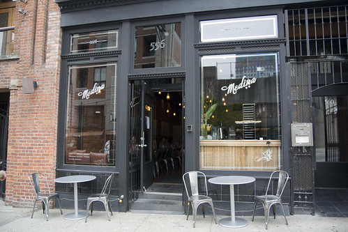 Cafe medina exterior