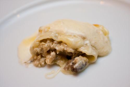 Cannelloni Di Pollo E Funghi