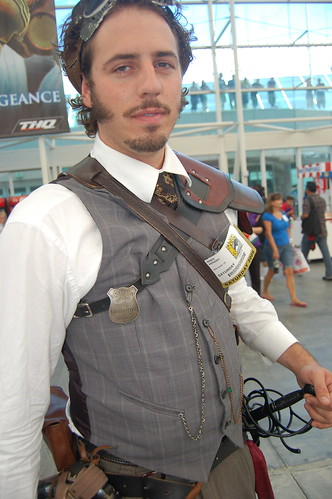 Comic Con 2009: Steampunk Lawman