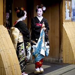Hassaku '09 #1 (Onihide) Tags: japan kyoto explore maiko geiko 2009  hassaku apprenticegeisha gionkobu kagai  takamari takahina     homersbeautyofwoman onihide taksuzu