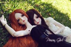 Rowan & Eileen - DOT Shall (-Poison Girl-) Tags: red orange black hair ginger doll dolls dot redhead sd bjd brunette dollfie superdollfie dod rowan eileen mayfair poisongirl shall dreamofdoll balljointeddoll ashlar lahoo dotshall dotlahoo dodshall rowanmayfair dodlahoo