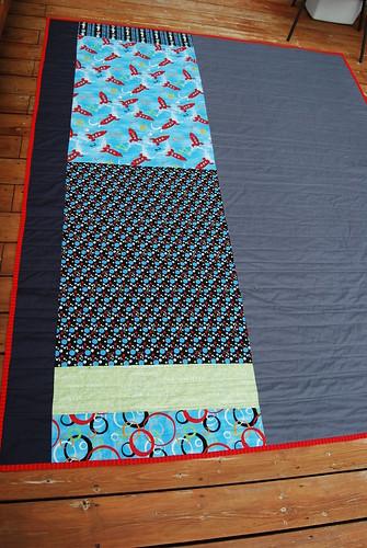 Gavin's quilt--back