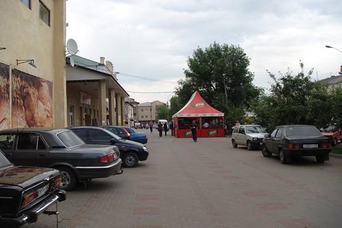 По центру Красноармейской