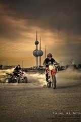 (Talal Al-Mtn) Tags: red black canon rebel sand desert dunes towers tags cc raptor motor kuwait xsi q8 kwt kuwaittower 450d inkuwait talalalmtn طلالالمتن kwtmotors