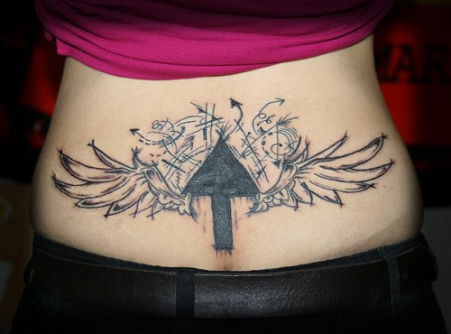 Typically Cool Lower Back Tattoo Design
