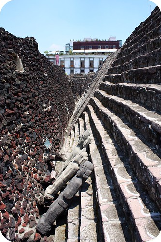 zocolo-Aztec ruins, Mexico City, Temple Mayor by you.
