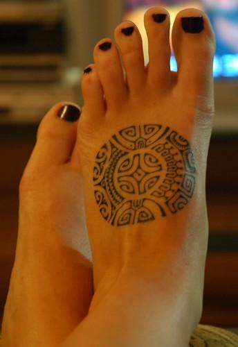 Marquesan tattoo by Brittanie Shey.