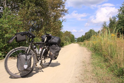 Rural cycling in Quebec...