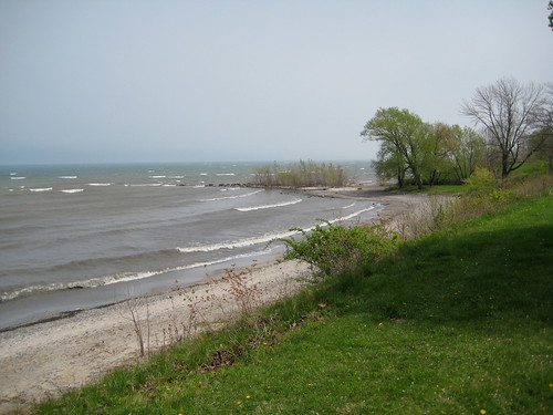 Lake Erie from Sherod Park, Ohio